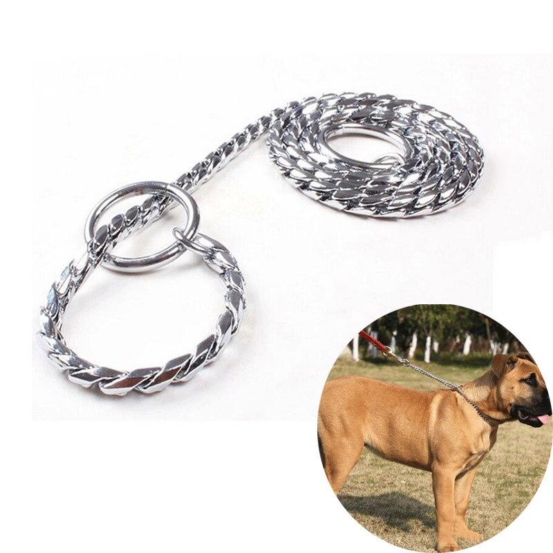 Цепь для собаки: будочные рывковые ошейники