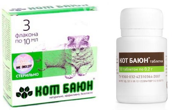 Препарат Кот Баюн для кошек