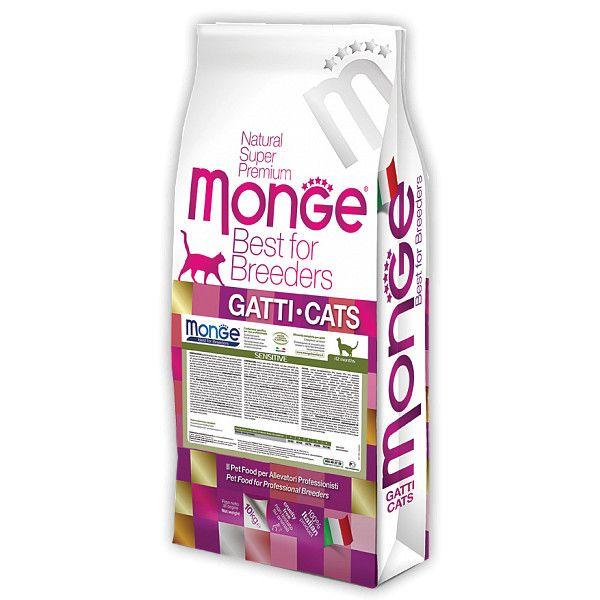Корм для кошек Monge («Монж»): состав и особенности рационов