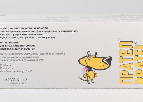 Препарат Прател для лечения глистных инвазий у кошек
