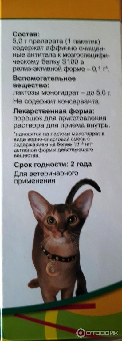 Анотен для кошек и собак