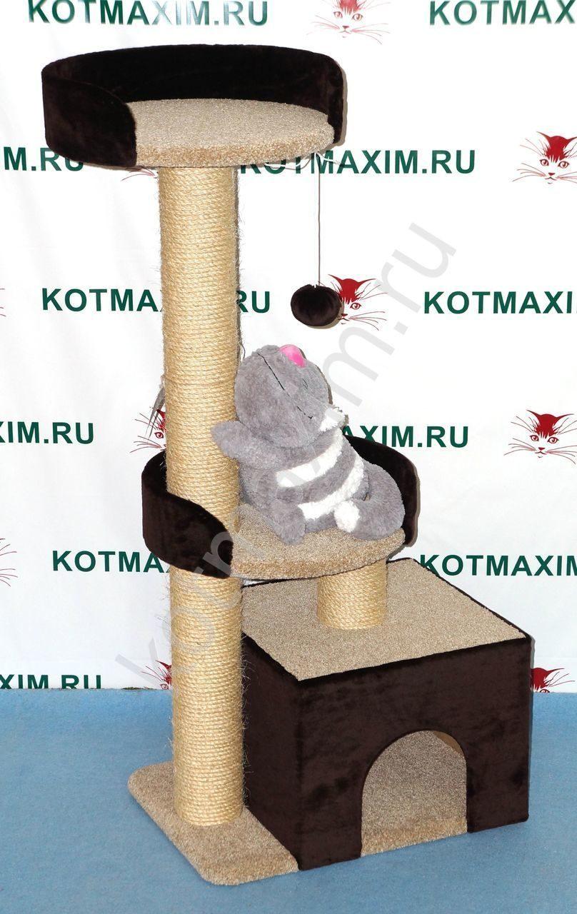 Игровой комплекс для кошек своими руками