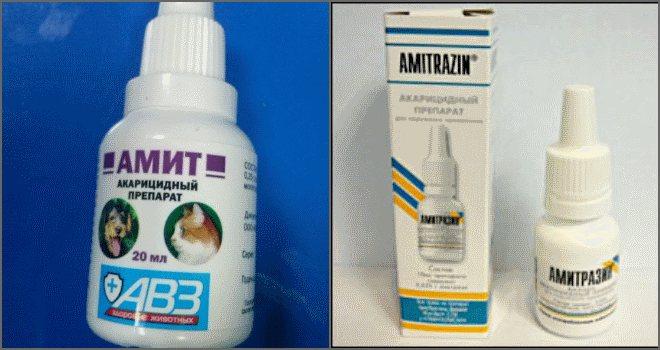 Ветеринарный препарат Амитразин: когда и как его применять