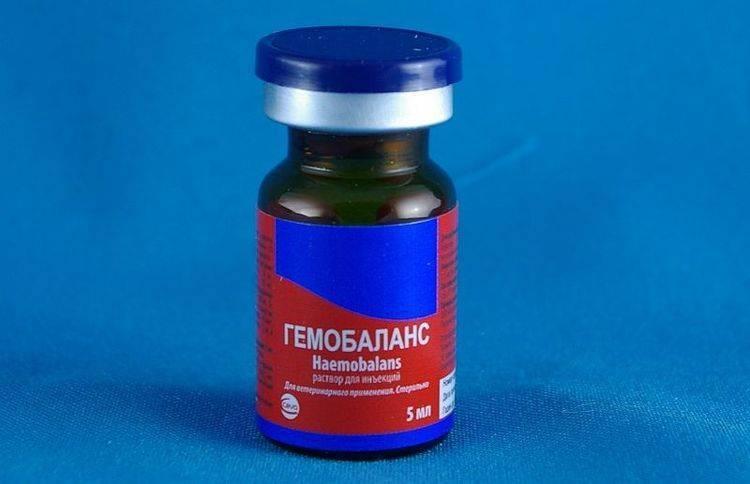 Гемобаланс — эффективный витаминный препаратдля кошек