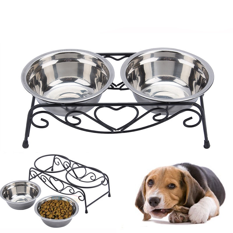 Миски для собак на подставке с шипами: обзор