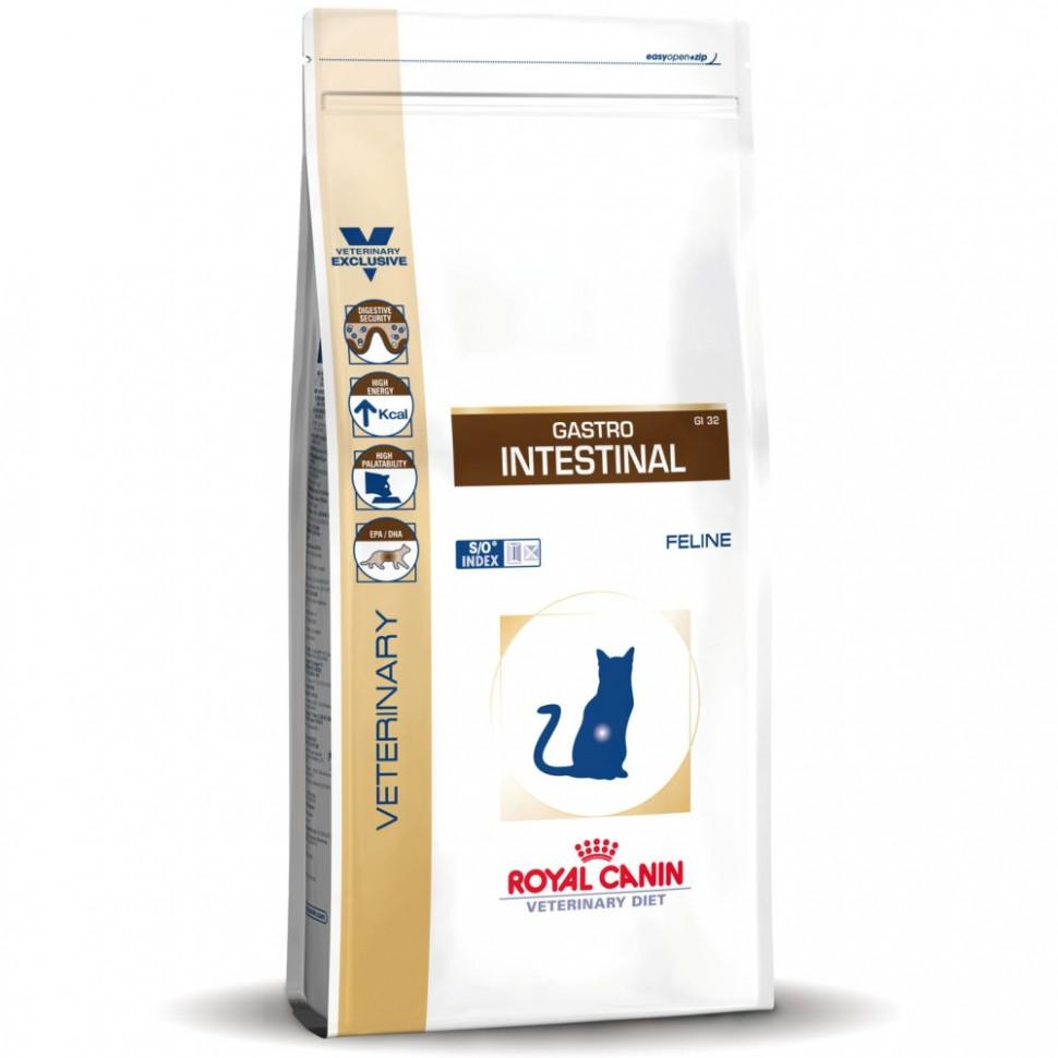Корм Royal Canin Gastro Intestinal для кошек