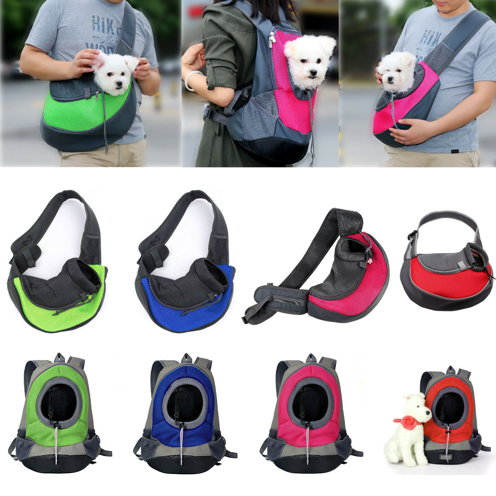 Рюкзак-переноска для собак: кенгуру для мелких пород