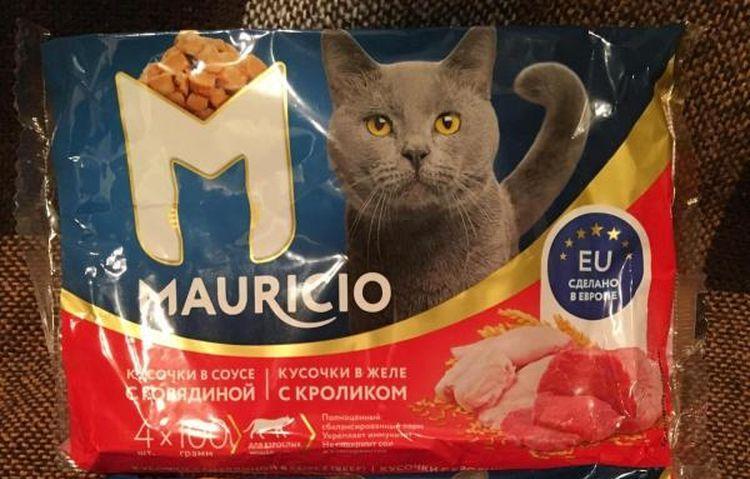 Корм для кошек Mauricio («Маурицио»): эконом или премиум
