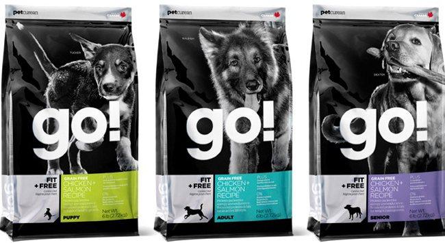 Корм для собак GO! и щенков: описание рациона