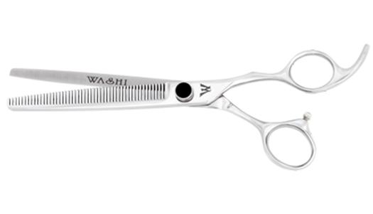 Ножницы для стрижки собак: филировочные и изогнутые варианты
