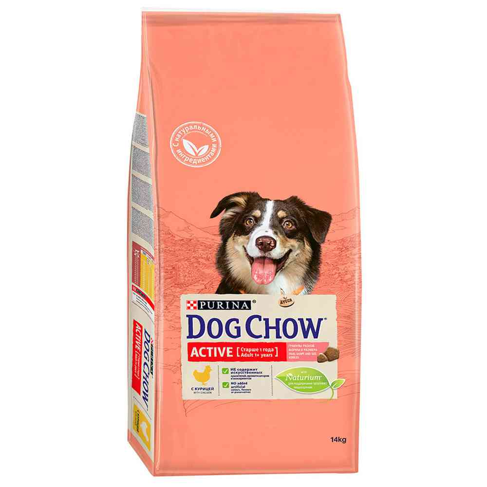 Дог чау: корм для собак и щенков крупных и мелких пород