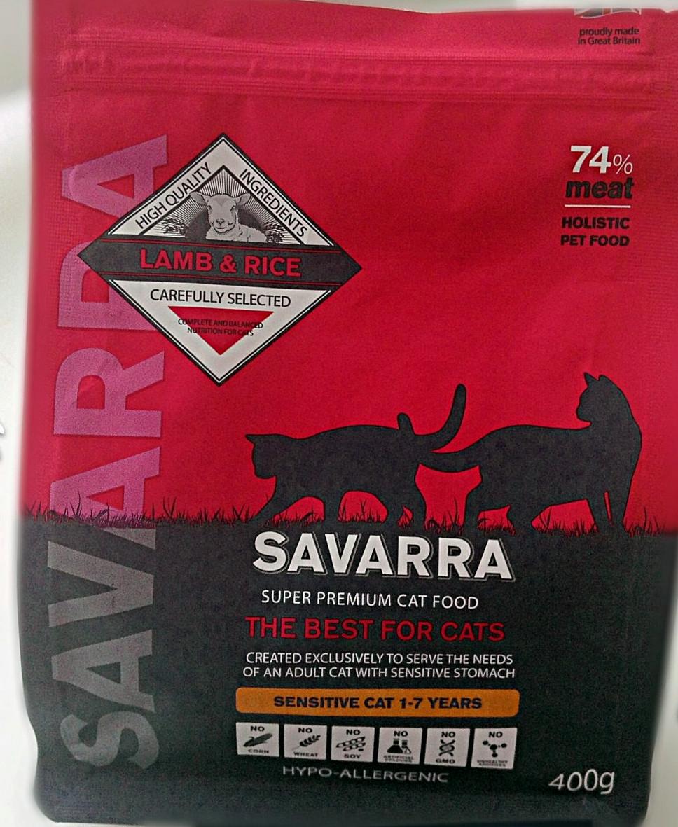 Корм Savarra для кошек