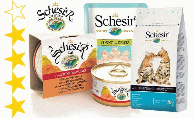 Корм для кошек Schesir («Шезир»)