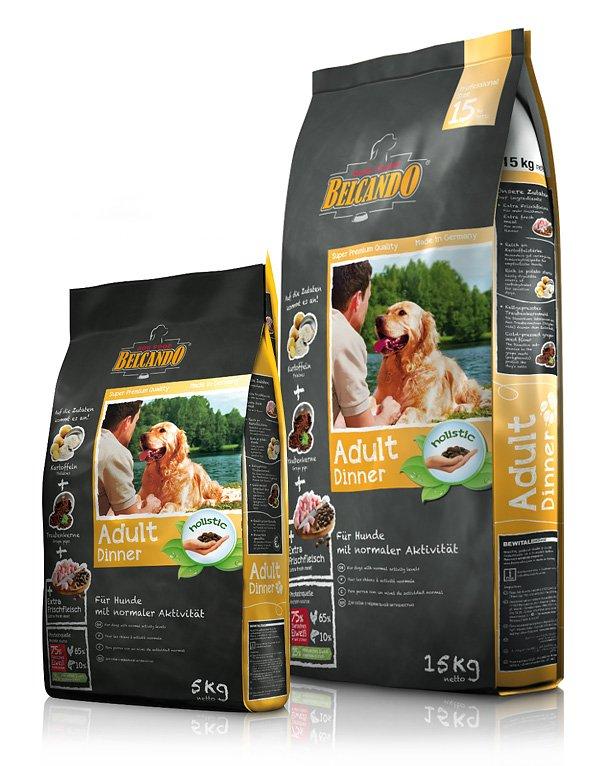 Белькандо: корм для собак и щенков