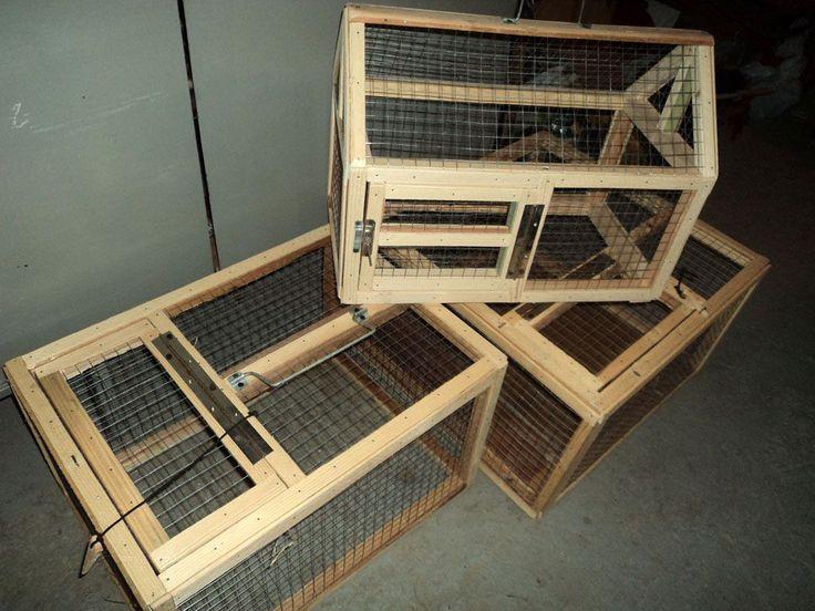 Как сделать клетку для кроликов своими руками из сетки