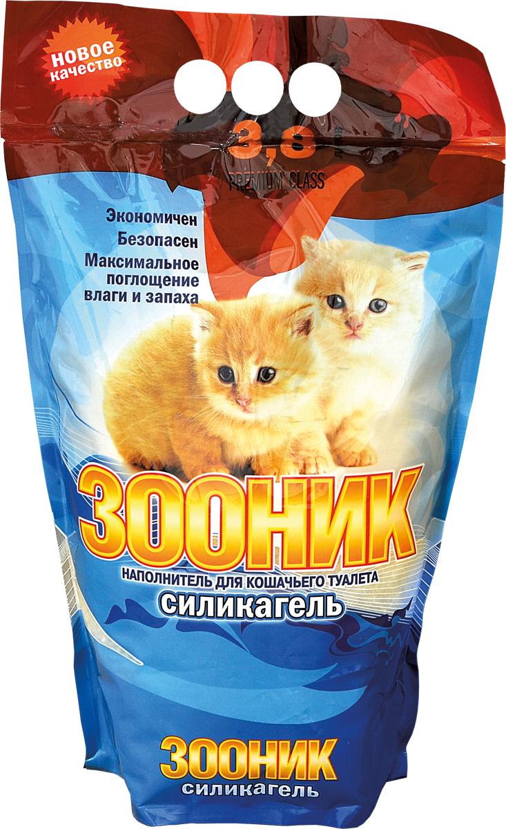 Наполнитель для кошачьего туалета марки «Зооник»