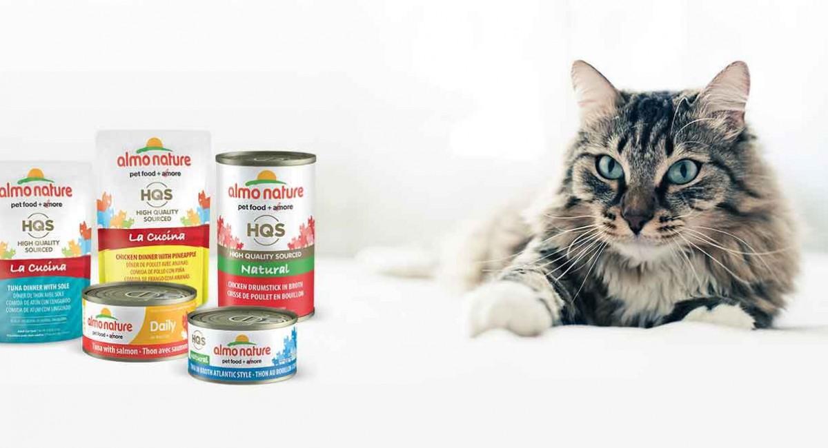 Корм Альмо Натюр для кошек