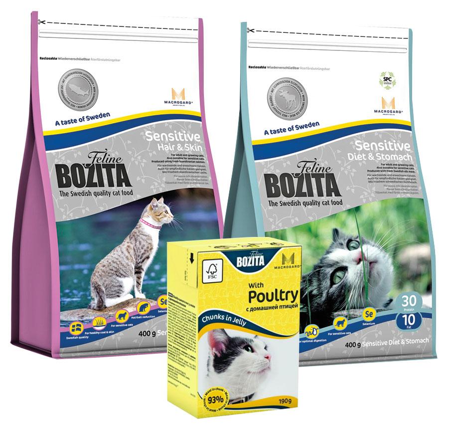 Корм для кошек «Бозита»: что нужно знать перед покупкой