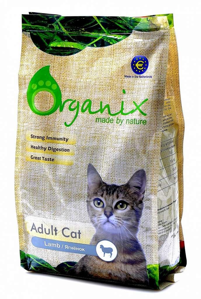 Органикс: полноценный корм для домашних кошек