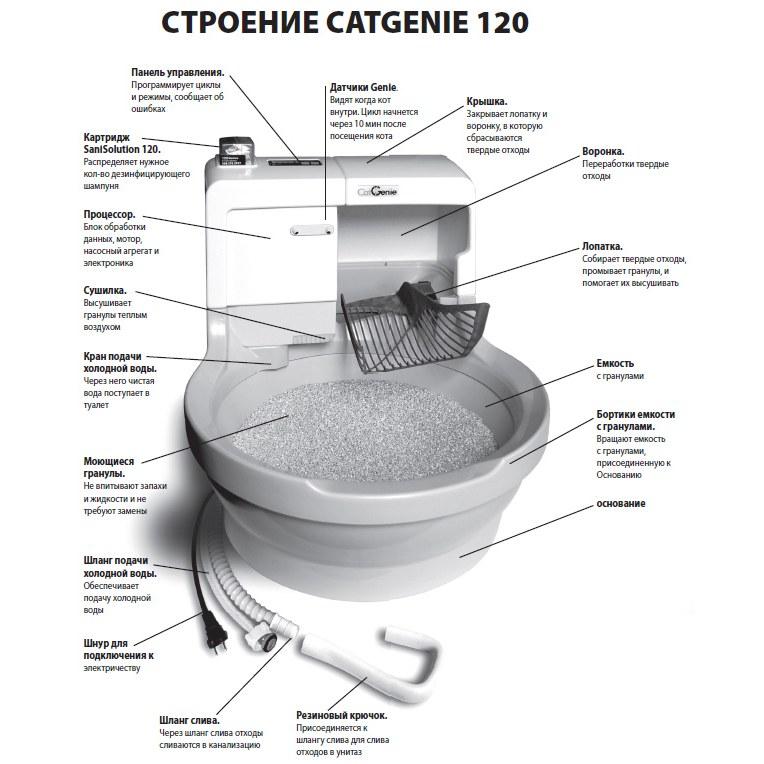 Автоматические туалеты для кошек: обзор популярных моделей