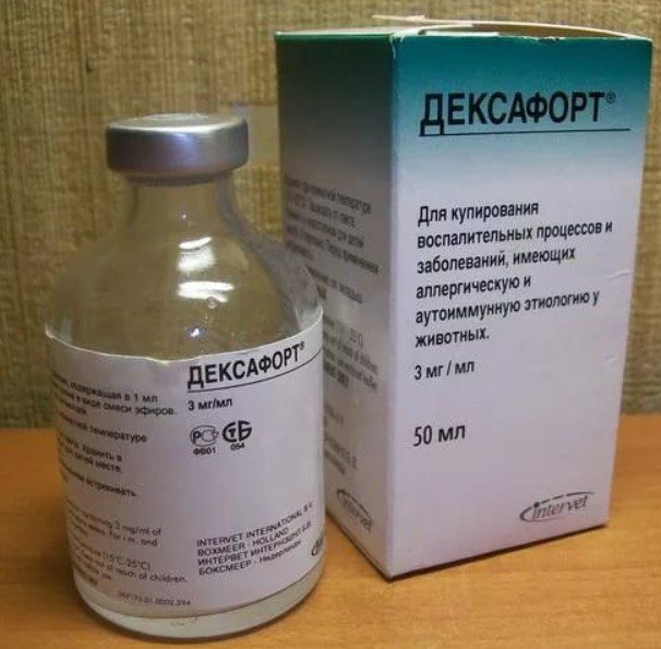 Описание ветеринарного препарата Дексафорт