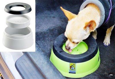 Поилка для собак: дорожная, переносная в клетку на улице