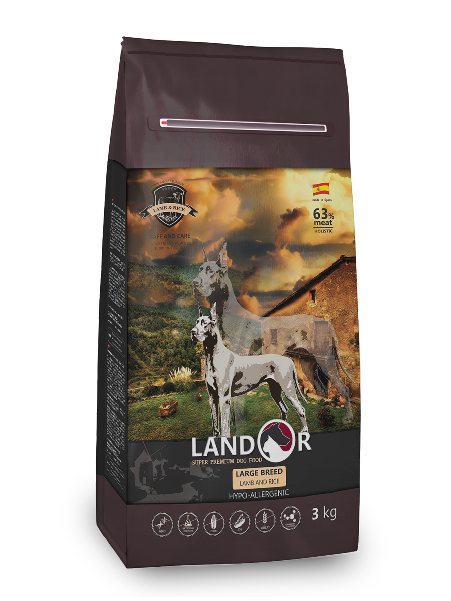 Корм для собак Landor