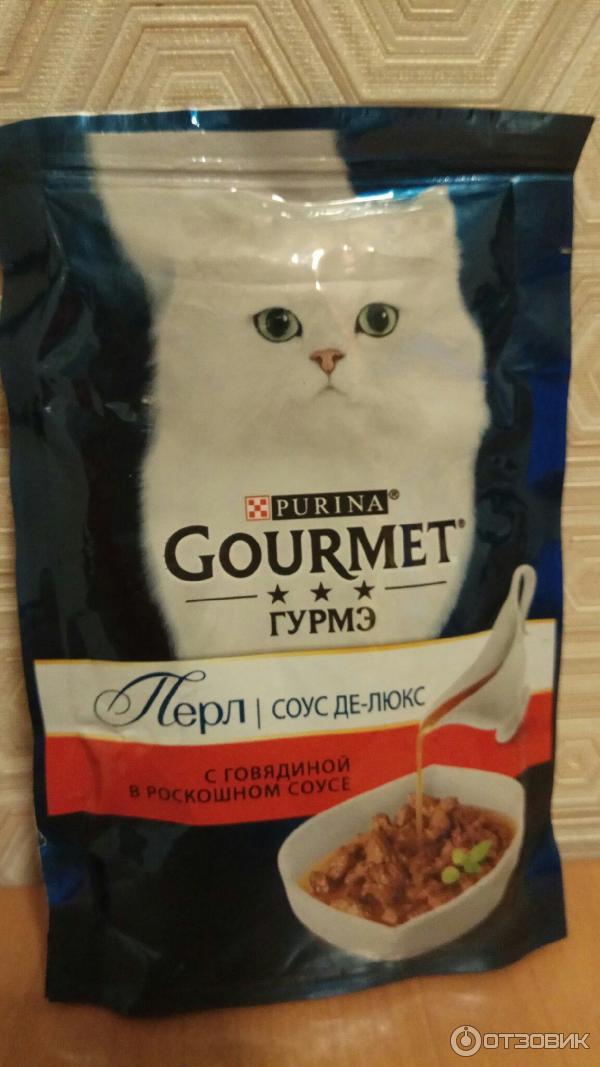 Гурмэ: корм для кошек, состав консерв Gourmet