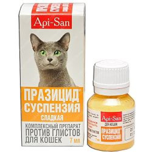 Пирантел для кошек