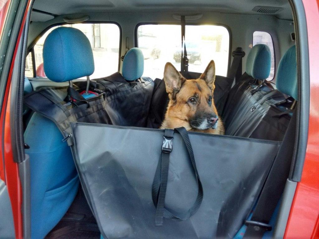 Гамак для собак в машину для перевозки животного