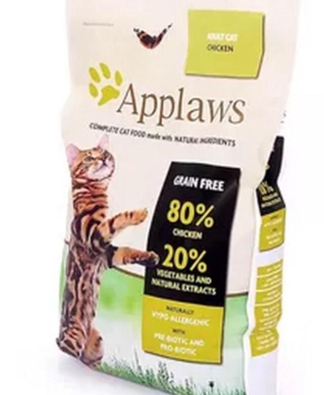 Обзор корма для кошек марки Applaws
