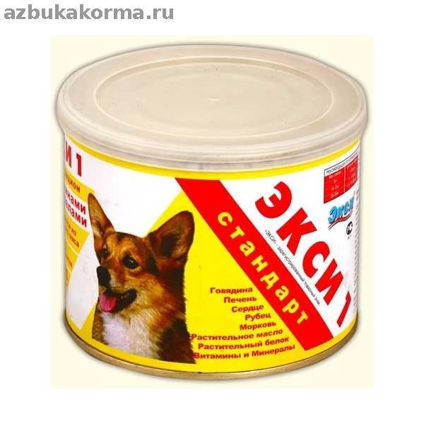Корм для собак мелких и крупных пород