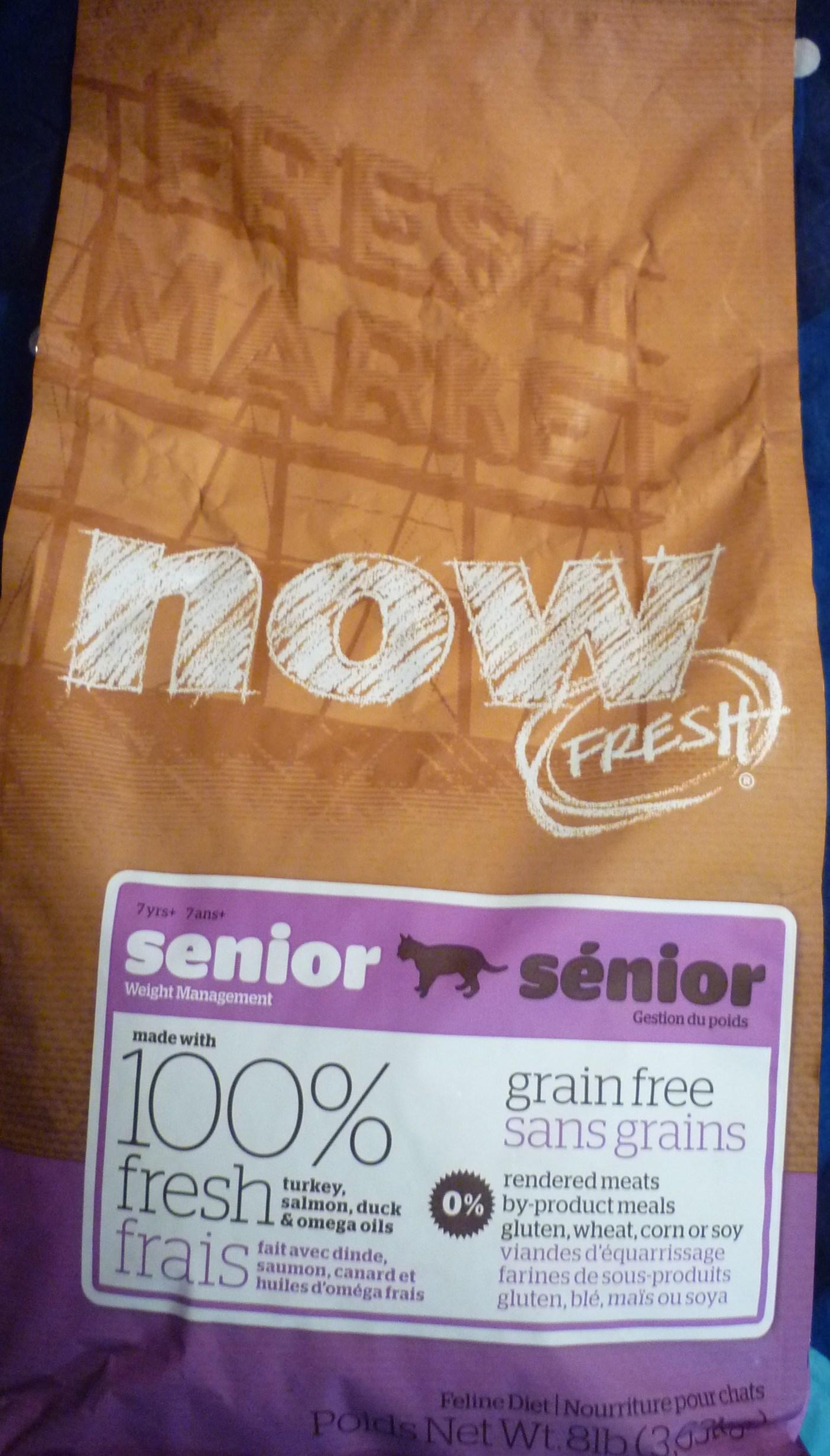 Now Fresh для кошек: выбираем корм класса холистик