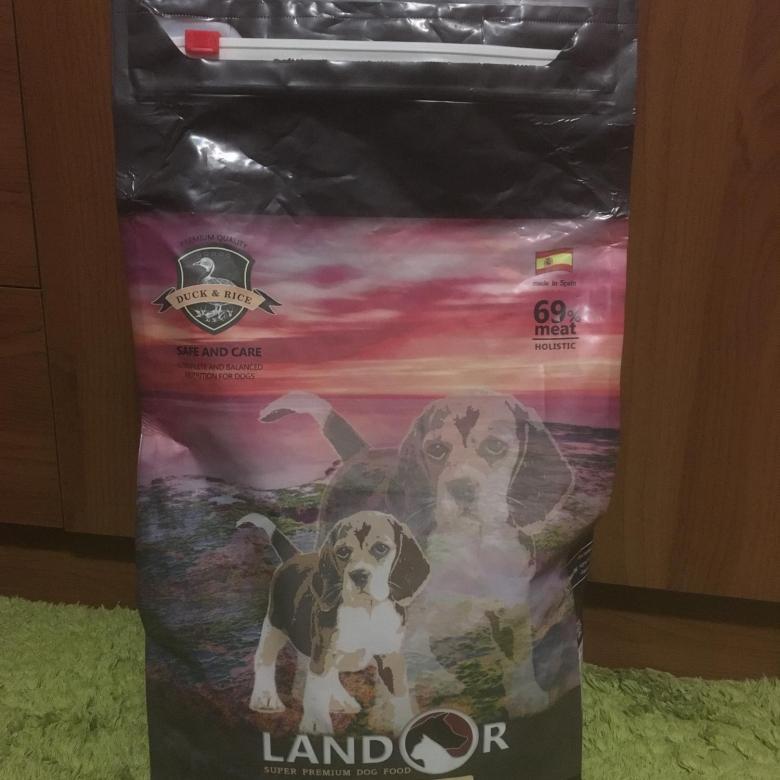 Корм для собак «Ландор» (landor): состав
