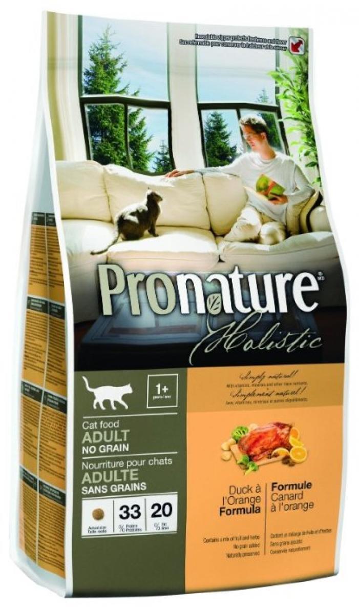 Pronature Holistic для кошек и котят: описание сухого рациона