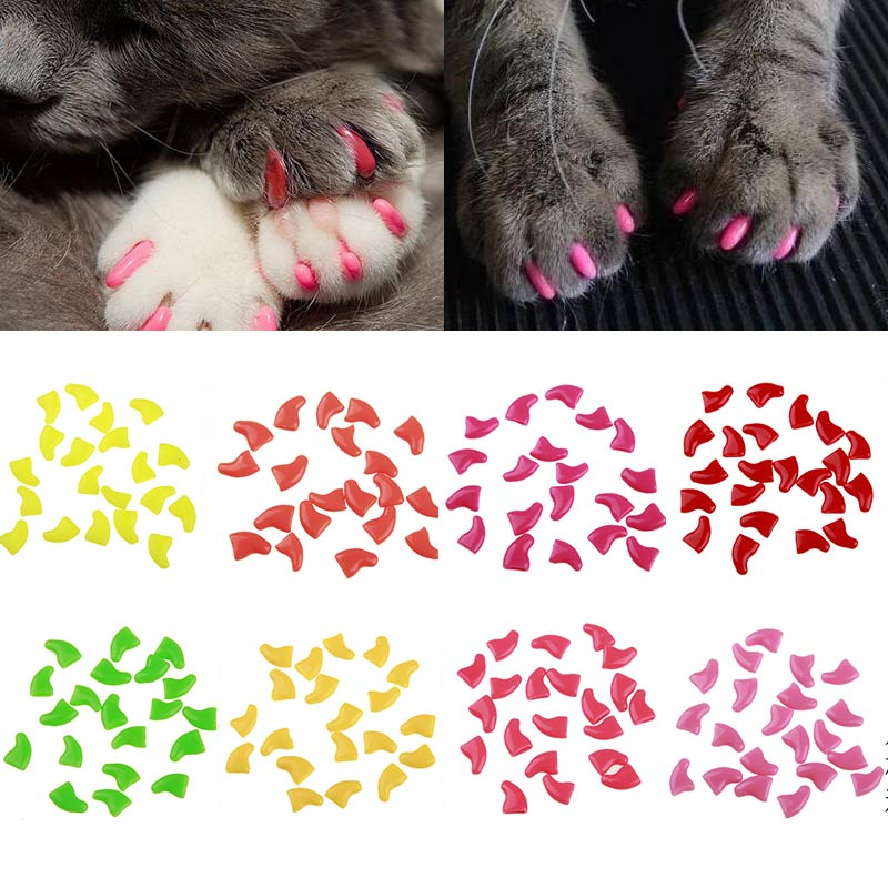 Накладки на когти для кошек: описание и применение