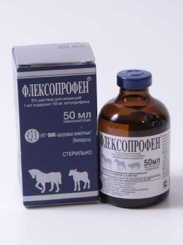 Флексопрофен (Flexoprofen): как правильно применять у кошек