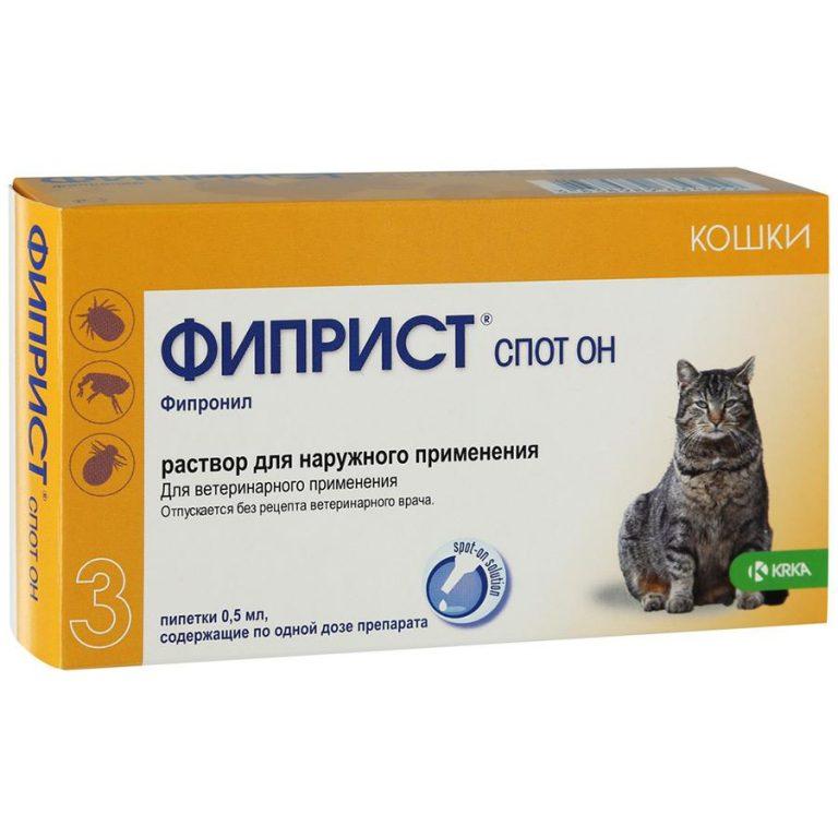 Препарат Фиприст: помощь в борьбе с кровососущими паразитами у кошек
