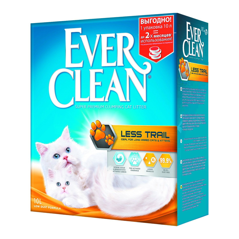 Наполнитель для кошачьего туалета фирмы Ever Clean