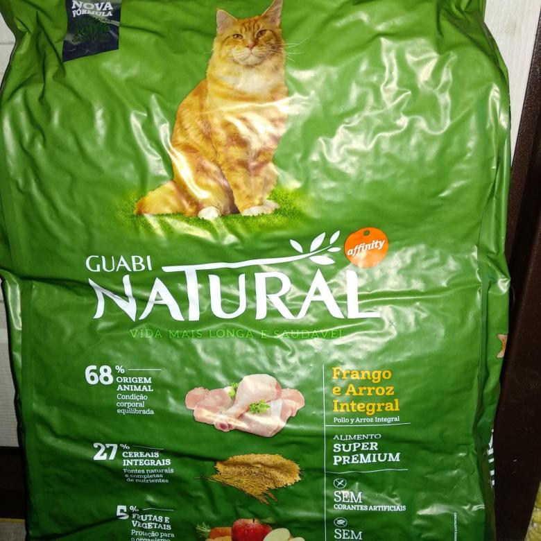Корм для кошек Гуаби