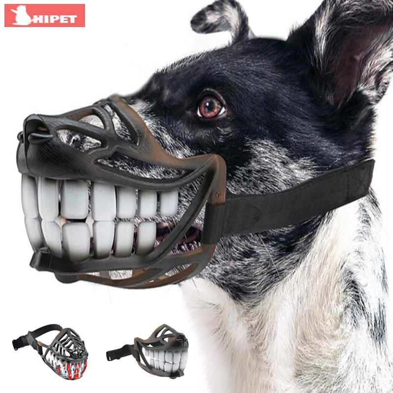 Намордник для собак маленьких и крупных пород с зубами
