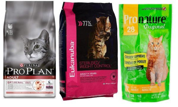 Корм для кошек «Пронатюр»: линейки и особенности состава
