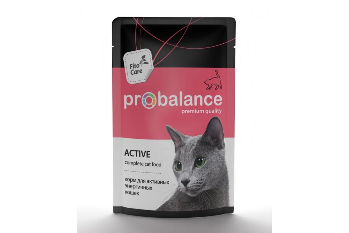 Корм для котят и кошек «Пробаланс»