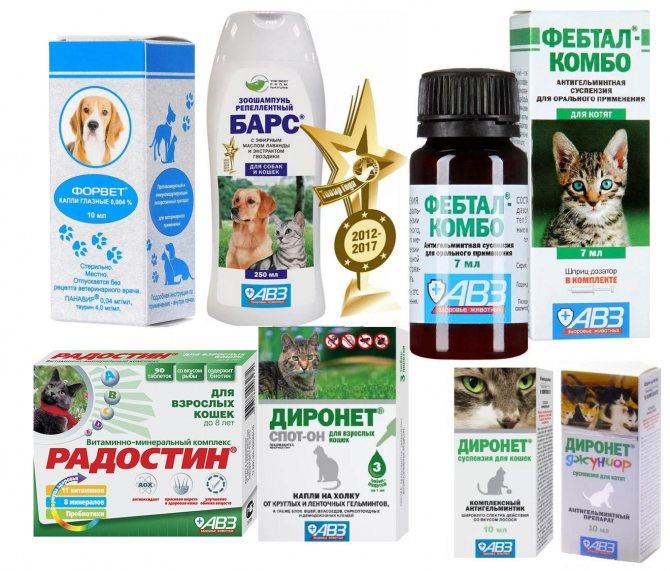 Препарат Форвет для кошек